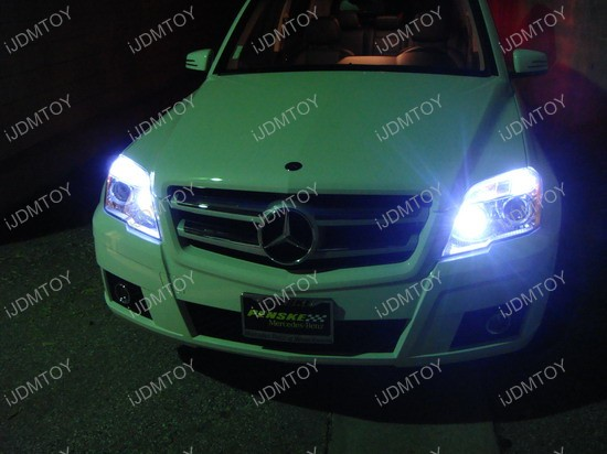 Mercedes - GLK350 - LED - parking - lights 5